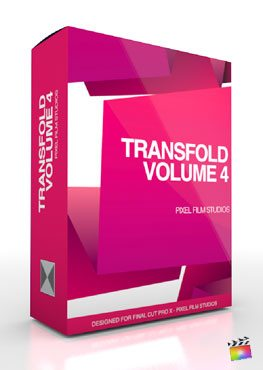 Final Cut Pro X Plugin TransFold Volume 4 from Pixel Film Studios