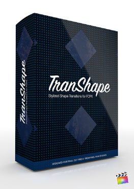 Final Cut Pro X Plugin TransShape from Pixel Film Studios