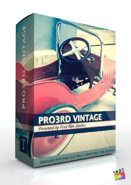 Final Cut Pro X Plugin Pro3rd Vintage from Pixel Film Studios