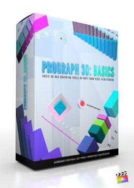 Final Cut Pro X Plugin ProGraph 3D Basics from Pixel Film Studios