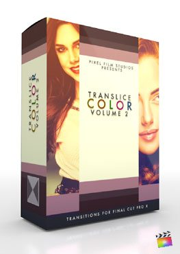Final Cut Pro X Plugin TranSlice Color Volume 2 from Pixel Film Studios