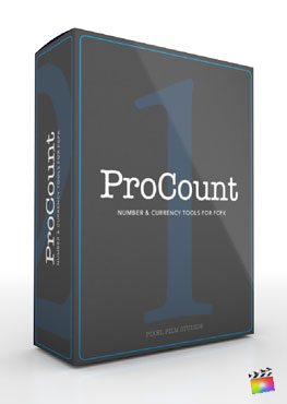 Final Cut Pro X Plugin ProCount from Pixel Film Studios