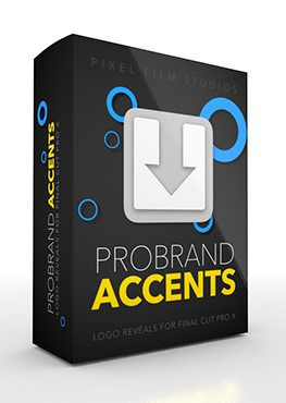 Final Cut Pro X Plugin ProBrand Accents from Pixel Film Studios