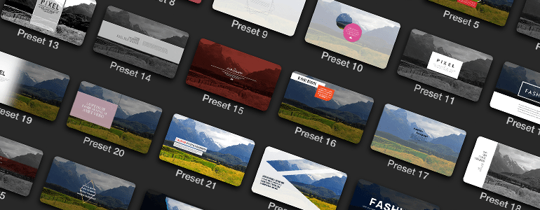 Final Cut Pro X Plugin ProParagraph: Fashion from Pixel Film Studios