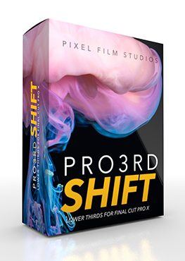 Pro3rd Shift -Lower Thirds For FCPX