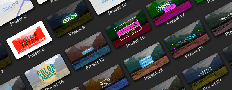Professional - Self-Animating Titles - for Final Cut Pro X