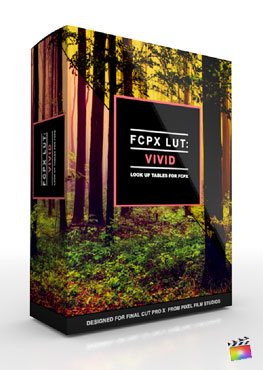 Final Cut Pro X Plugin FCPX LUT Vivid from Pixel Film Studios