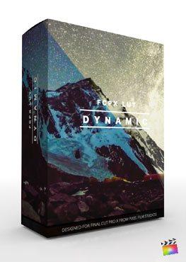 Final Cut Pro X Plugin FCPX LUT Dynamic from Pixel Film Studios