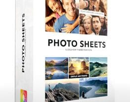 Final Cut Pro X Plugin Production Package Photo Sheets from Pixel Film Studios