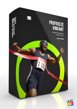 Final Cut Pro X Plugin ProFreeze Vibrant from Pixel Film Studios