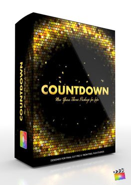 Final Cut Pro X Production Package Countdown from Pixel Film Studios