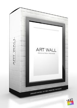 Final Cut Pro X Production Package Art Wall from Pixel Film Studios