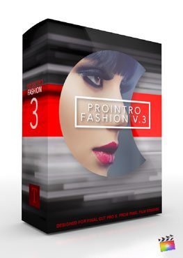 Final Cut Pro X Plugin ProIntro Fashion Volume 3 from Pixel Film Studios