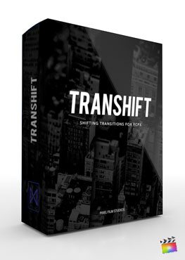 Final Cut Pro X transition TranShift from Pixel Film Studios