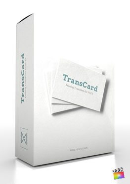 Final Cut Pro X Transition Transcard from Pixel Film Studios