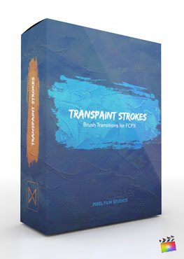 Final Cut Pro X Transition Transpaint Strokes from Pixel Film Studios