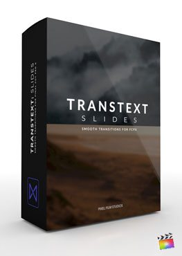 Final Cut Pro X Transition TransText Slides from Pixel Film Studios