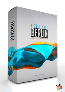 Final Cut Pro X Plugin FCPX LUT Berlin from Pixel Film Studios