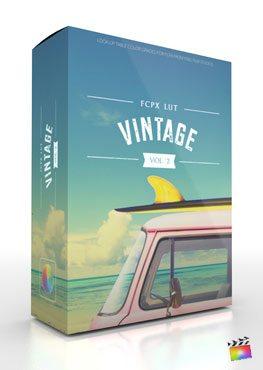 FCPX LUT Vintage Volume 2