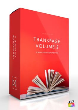 Final Cut Pro X Plugin TransPage Volume 2 from Pixel Film Studios