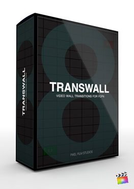 Final Cut Pro X Plugin TransWall Volume 8 from Pixel Film Studios