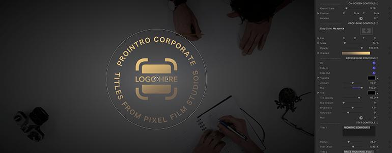 Final Cut Pro X Plugin ProIntro Web Corporate Volume 2 from Pixel Film Studios