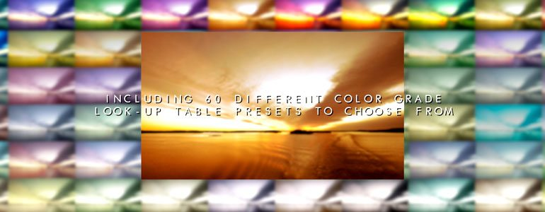 FCPX LUT Spectrum - Look Up Table Color Grades for Final Cut Pro X - for Final Cut Pro X from Pixel Film Studios
