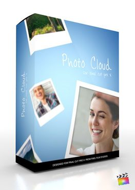 Final Cut Pro X Plugin Photo Cloud from Pixel Film Studios