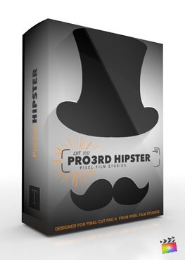 Final Cut Pro X Plugin Pro3rd Hipster from Pixel Film Studios