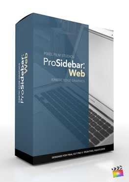 Final Cut Pro X Plugin ProSidebar Web