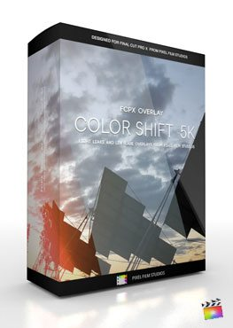 Final Cut Pro X Plugin FCPX Overlay 5K Color Shift from Pixel Film Studios