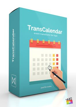 Final Cut Pro X Transition TranCalendar from Pixel Film Studios