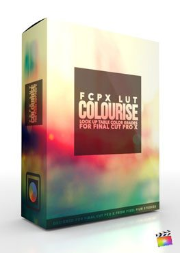 Final Cut Pro X Plugin FCPX LUT Colourise from Pixel Film Studios