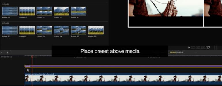 Precut Media Layouts for FCPX