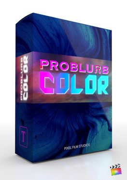 Final Cut Pro X Plugin ProBlurb Color from Pixel Film Studios