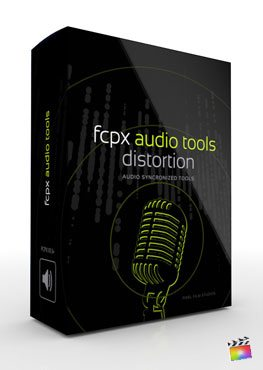 Final Cut Pro X Plugin FCPX Audio Tools Distortion from Pixel Film Studios