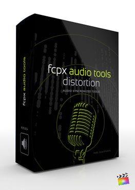 Final Cut Pro X Plugin FCPX Audio Tools Distortion from Pixel Film Studios