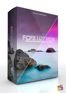Final Cut Pro X Plugin FCPX LUT HDR from Pixel Film Studios