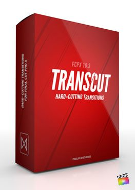 Final Cut Pro X Transition TransCut from Pixel Film Studios
