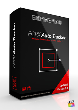 Final Cut Pro X Plugin FCPX Auto Tracker 2.1 from Pixel Film Studios