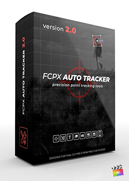 Final Cut Pro X Plugin FCPX Auto Tracker 2.0 from Pixel Film Studios