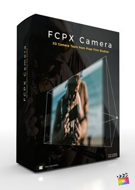Final Cut Pro X Plugin FCPX Camera from Pixel Film Studios