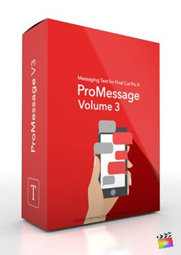 Final Cut Pro X plugin ProMessage Volume 3 from Pixel Film Studios