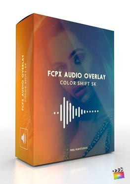 FCPX Audio Overlay Color Shift 5K