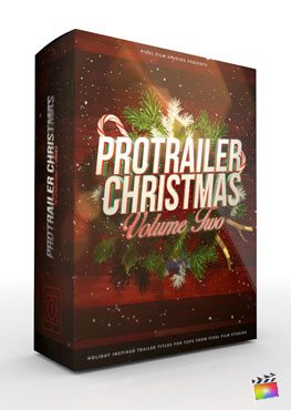 Final Cut Pro X Plugin ProTrailer Christmas Volume 2 from Pixel Film Studios