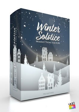 Final Cut Pro X Theme Winter Solstice from Pixel Film Studios