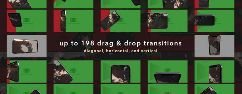 Final Cut Pro X Transitions TransPhone X from Pixel Film Studios