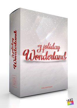 Final Cut Pro X Plugin Holiday Wonderland from Pixel Film Studios