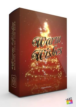 Final Cut Pro X Theme Warm Wishes from Pixel Film Studios