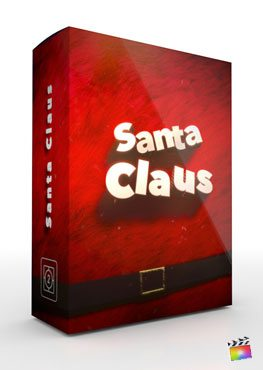 Final Cut Pro X Theme Santa Claus from Pixel Film Studios